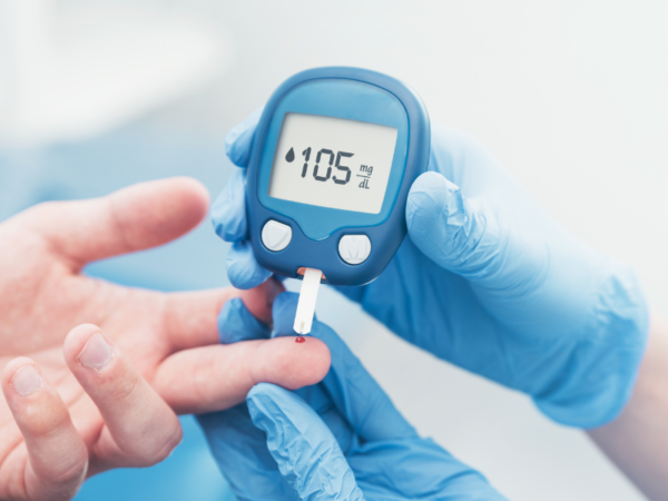 Biosensor for diabetes monitoring
